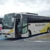 天王寺から名古屋まで大阪バスの「名古屋特急ニュースター号」に乗車(2013年乗車分)
