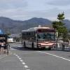 嵐山から京都駅まで京都バス76系統に乗って